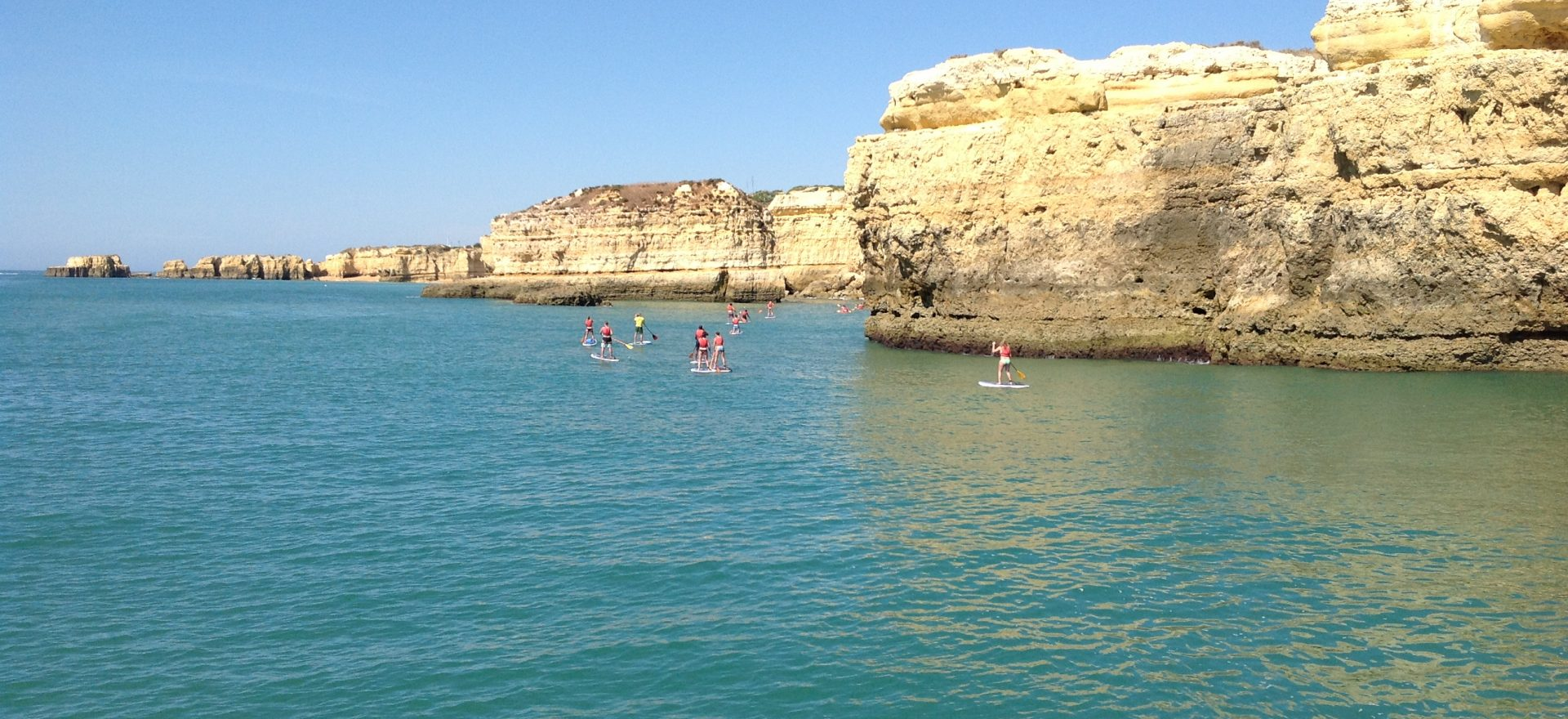 standup paddle excursions vilamoura